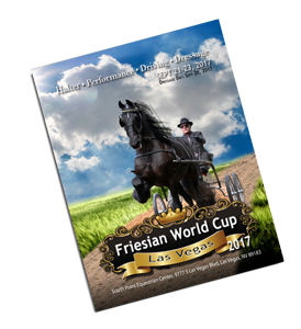 Friesian World Cup Premium/Prizelist