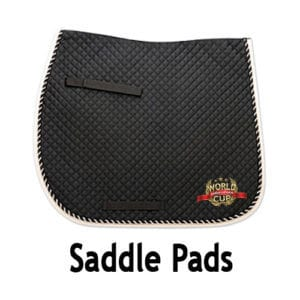 Saddle Pad - Black