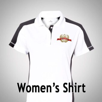 AWC WOMEN'S POLO - WHITE