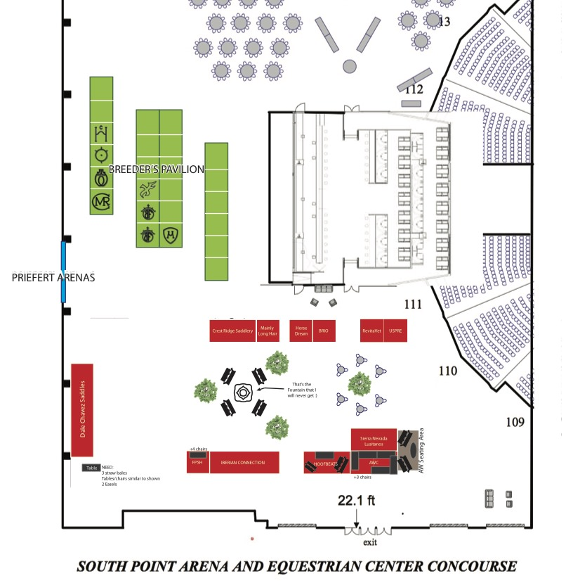 Vendor Booths & Breeder's Pavillion