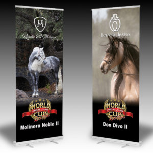 AWC Concourse Retractable Banners